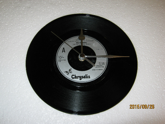 "Blondie - ""Call Me"" Record Wall Clock"