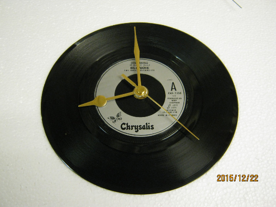 "Blondie - ""Dreaming"" Record Wall Clock"