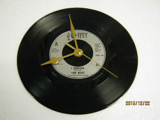 "The Beat - ""I Confess"" Record Wall Clock"