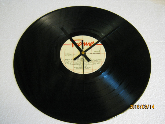 "The Beat - ""I Just Can't Stop It"" Record Wall Clock"
