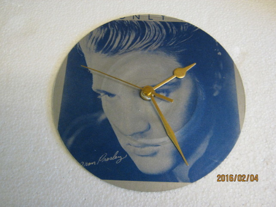 "Elvis Presley - ""It's Only Love"" Record Sleeve Wall Clock"
