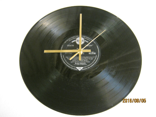 "Elvis Presley - ""G.I. Blues"" Record Wall Clock"