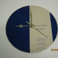 "The Smiths - ""How Soon Is Now"" Record Sleeve Wall Clock"