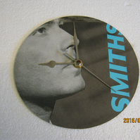 "The Smiths - ""Panic"" Record Sleeve Wall Clock"
