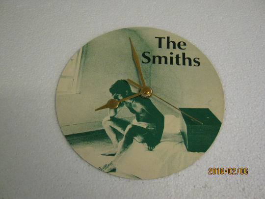 "The Smiths - ""William, It Was Really Nothing"" Record Sleeve Wall Clock"