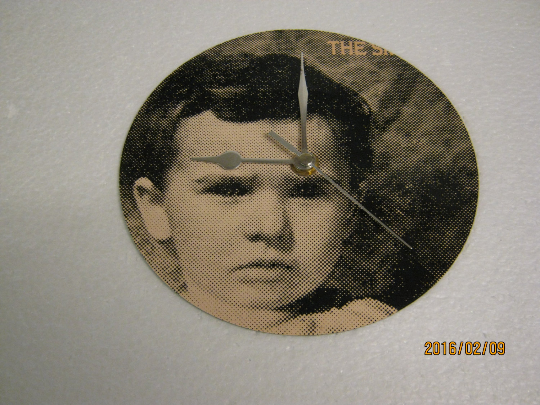 "The Smiths - ""That Joke Isn't Funny Anymore"" Record Sleeve Wall Clock"