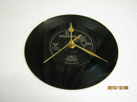 "Gerry And The Pacemakers - ""I Like It"" Record Wall Clock"