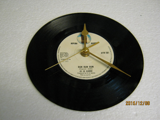 "Jo Jo Gunne - ""Run Run Run"" Record Wall Clock"