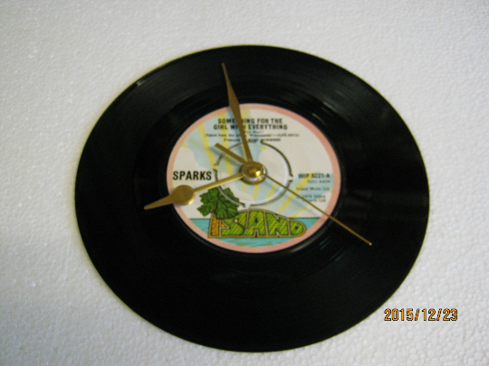 "Sparks - ""Something For The Girl With Everything"" Record Wall Clock"