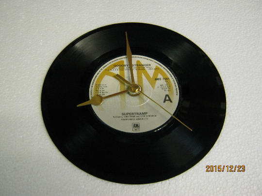 "Supertramp - ""Goodbye Stranger"" Record Wall Clock"