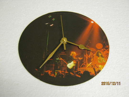 "Gillan - ""In Concert"" Record Sleeve Wall Clock"