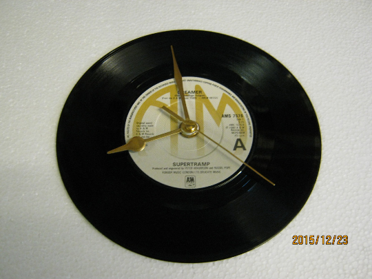"Supertramp - ""Dreamer"" Record Wall Clock"