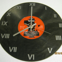 "The Clash - ""Sandinista"" CD & Record Wall Clock"