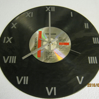 "The Clash - ""The Clash"" CD & Record Wall Clock"