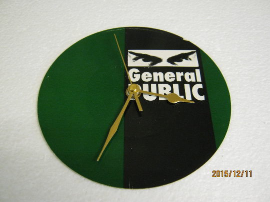 "General Public - ""General Public"" Record Sleeve Wall Clock"