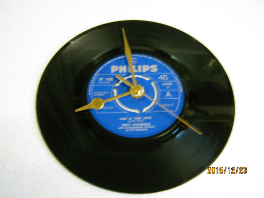 "Dusty Springfield - ""Some Of Your Lovin'"" Record Wall Clock"