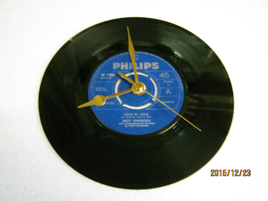 "Dusty Springfield - ""Little By Little"" Record Wall Clock"