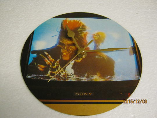 "Sigue Sigue Sputnik - ""21st Century Boy"" Poster Sleeve Wall Clock"