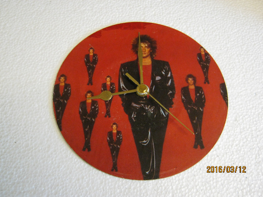 "Rod Stewart - ""Baby Jane"" Record Sleeve Wall Clock"