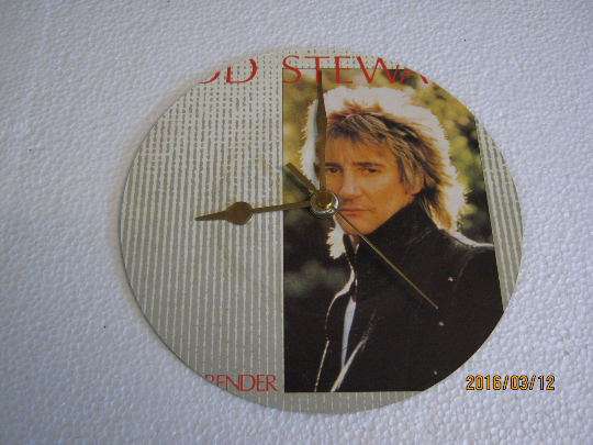 "Rod Stewart - ""Sweet Surrender"" Record Sleeve Wall Clock"