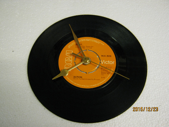"The Sweet - ""Action"" Record Wall Clock"