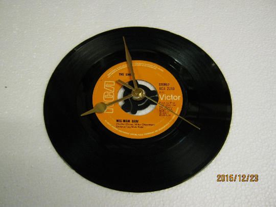 "The Sweet - ""Wig Wam Bam"" Record Wall Clock"