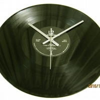 "U2 - ""Wide Awake In America"" Record Wall Clock"