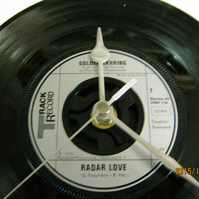 "Golden Earring - ""Radar Love"" Record Wall Clock"