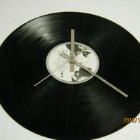 "U2 - ""Boy"" Record Wall Clock"