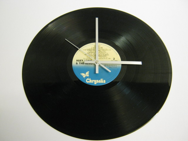 "Huey Lewis And The News - ""Fore!"" Record Wall Clock"