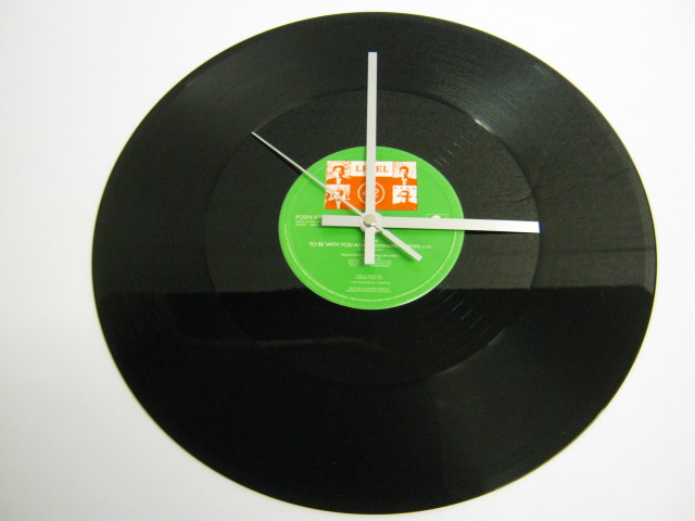 "Level 42 - ""To Be With You Again"" Record Wall Clock"