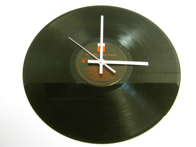 "Level 42 - ""Running In The Family"" Record Wall Clock"