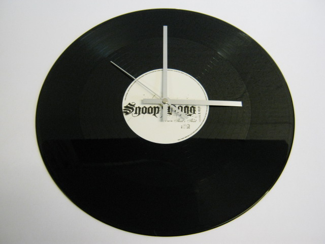 "Snoopdogg - ""That's That"" Record Wall Clock"