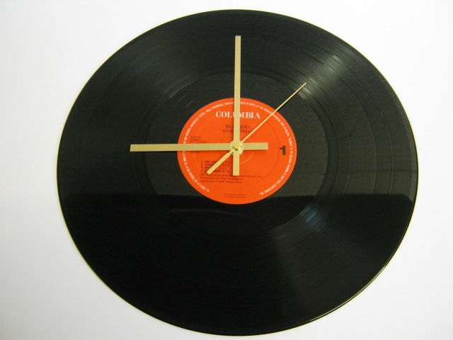 "Billy Joel - ""52nd Street"" Record Wall Clock"