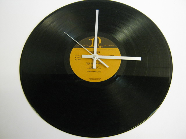 "Scott Joplin - ""Piano Rags Volume II"" Record Wall Clock"