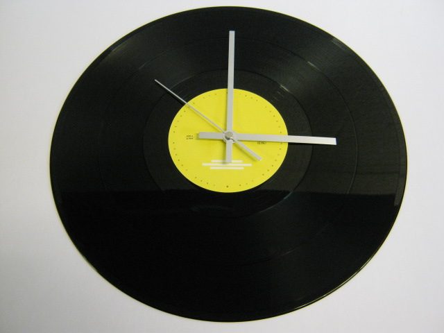 "Joy Division - ""Love Will Tear Us Apart"" Record Wall Clock"