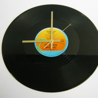 "The Gibson Brothers - ""Que Sera Mi Vida"" Record Wall Clock"