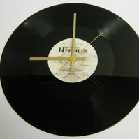 "Fields Of The Nephilim - ""For Her Light"" Record Wall Clock"