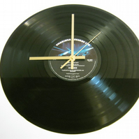 "Genesis - ""Seconds Out"" Record Wall Clock"