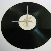 "Genesis - ""Three Sides Live"" Record Wall Clock"