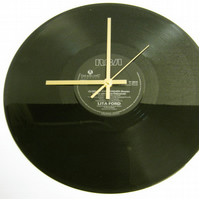 "Lita Ford - ""Close My Eyes Forever"" Record Wall Clock"