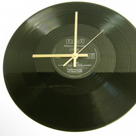 "Fairground Attraction - ""Clare"" Record Wall Clock"