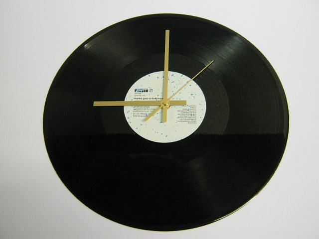 "Frankie Goes To Hollywood - ""Relax"" Record Wall Clock"