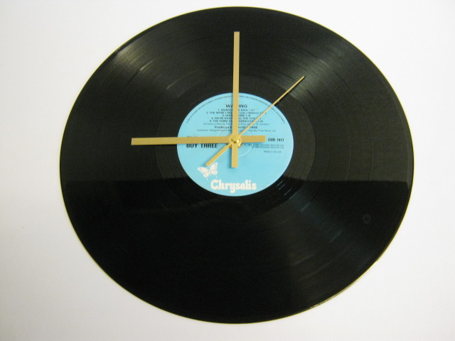 "Fun Boy Three - ""Waiting""  Record Wall Clock"