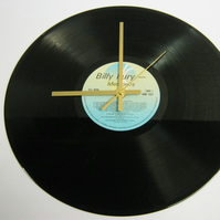 "Billy Fury - ""Memories"" Record Wall Clock"