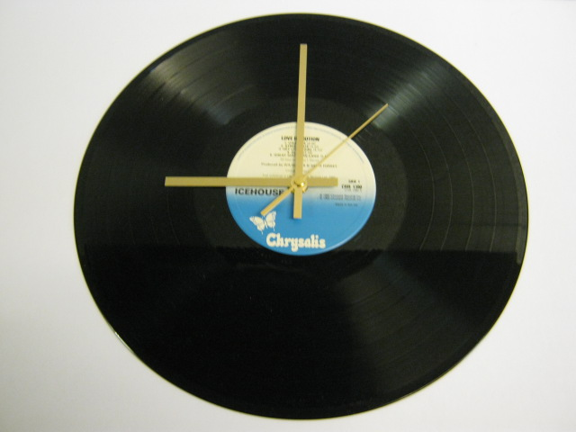 "Icehouse - ""Love In Motion"" Record Wall Clock"