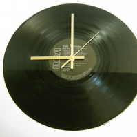 "Grand Prix - ""There For None To See"" Record Wall Clock"