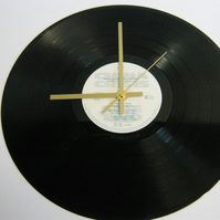 "China Crisis - ""Working With Fire And Steel"" Record Wall Clock"