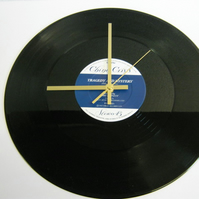 "China Crisis - ""Tragedy & Mystery"" Record Wall Clock"