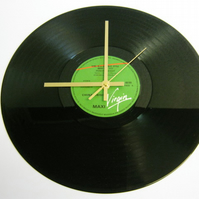 "China Crisis - ""King In A Catholic Style"" Record Wall Clock"